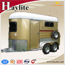 High quality horse float trailer truck with door