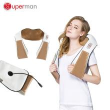 venta caliente Nuevo Diseño Masajeador de Amasamiento de Cuerpo Completo cinturón Shiatsu Masajeador de Cuello de Hombro con Calor