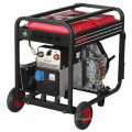 Soldador de generador de tubería alimentado a gasolina