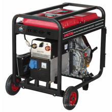 Gasoline Powered Pipe Generator Welder