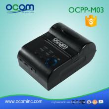 OCPP-M03: batería confiable Ganar Java SDK compatible con Android o iOS disponible Impresora móvil térmica con bluetooth de 58mm