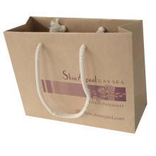 Qualitäts-kundenspezifischer Einkaufstasche-Kraftpapier-Taschen-Drucken