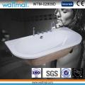 D Shape Design New Trend Drop-in Bathtub