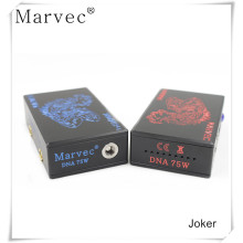 Joker box mod ecigarette with DNA75