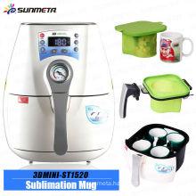 hot new 2014 mini 3D vacuum mug press machine for plastic mugs cups