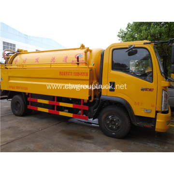 4x2 fecal suction vehicle fecal truck for sale