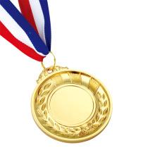 Médailles de bronze argentées or olympiques personnalisées à vendre