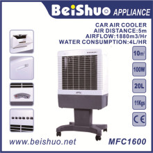 100W Водяной охладитель Промышленный портативный воздушный охладитель для автомобиля / гостиницы / ресторана