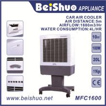 100W Wasserkühler Industrial Portable Air Cooler für Auto / Hotel / Restaurant