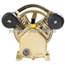 2PS 8bar Kolbenluftpumpe V2051 Druckguss-Kompressorkopf mit Eisengussriemenantrieb