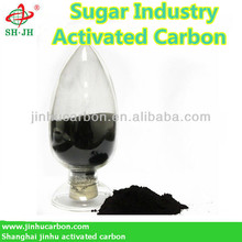 Activated carbon for sugar industry