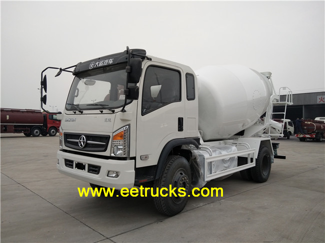 Dayun 4000 Liters Mini Cement Trucks