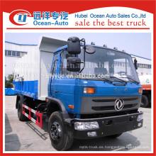 Fábrica nueva capacidad de camión de basura dongfeng de acoplamiento