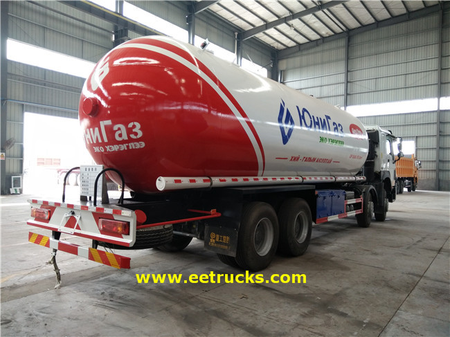 LPG Transport Trucks