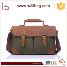 Men Canvas Shoulder Bag Casual Message Bag Crossbody Satchel Bag