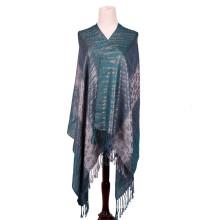 Dark Blue 196 * 70cm Warm Fashion Scarf Pashmina elegante para senhora