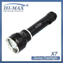 Wholesale price long distance 18650/26650 battery led flashlight magnetic base light