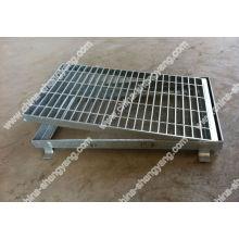 grilles de pont en acier galvanisé