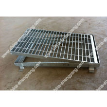 galvanized steel bridge gratings
