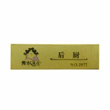 prix usine en gros personnalisé nom inscriptible nom badge nom étiquette plaque