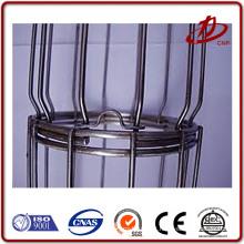 Conectar peças unidade rateada da gaiola do filtro