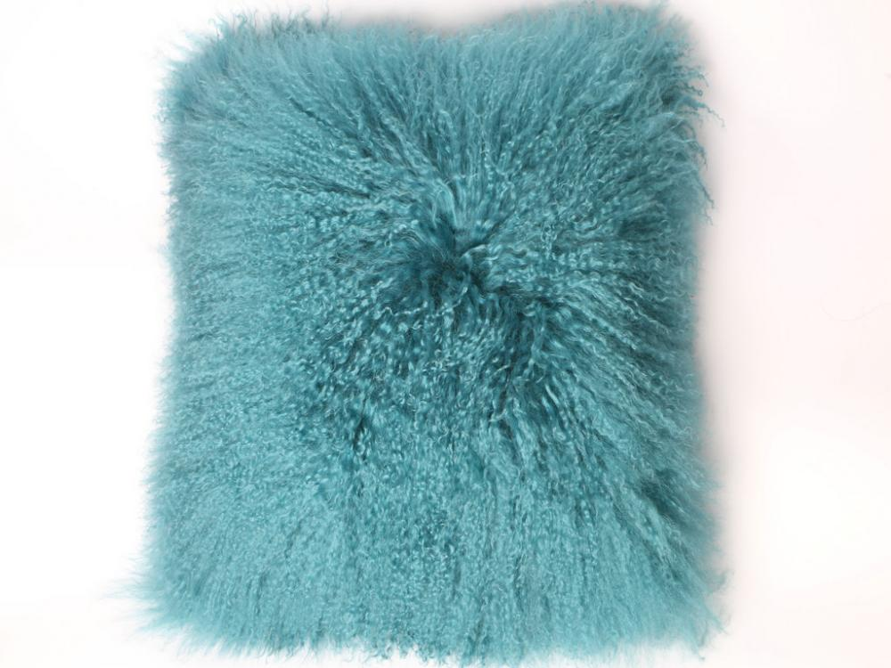 Langes Haar mongolisches Lamm Curly Fur Cushion