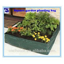 Hot garden supplies square garden planting bag for potato seed planter