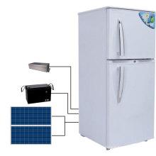 Refrigerador posto solar da CC, refrigerador da energia solar