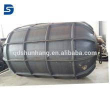 Amortisseur pneumatique de nervure en caoutchouc marin pour la protection de bateau de accostage