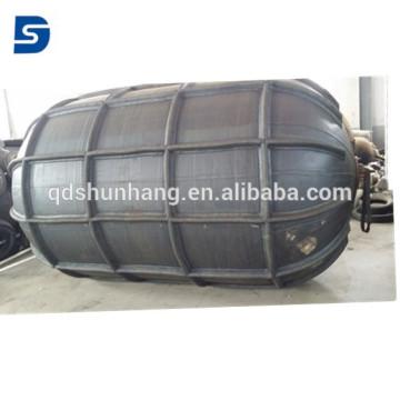 Pára-choque pneumático de borracha marinho do reforço para a proteção do navio de atracação