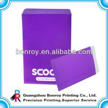 Imprimir sobres de papel de diseño hecho a mano