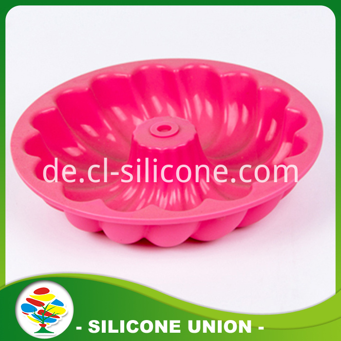 silicon cake mold front