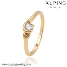 13833 xuping moda novas mulheres design antigo anel de dedo de ouro