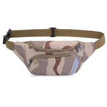 High Quality polyester Sports Waist Bag Men Military Tactical Waist Bag Camouflage Color fanny pack
