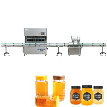 Fully Automatic Paste Honey Stick Jam Ketchup Filling Capping Labeling Machine