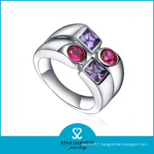 2016 Rhodium Plated New Design Rings Silver Jewelry (R-0428)