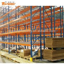 estante de plataforma de doble profundidad de metal resistente para el almacén