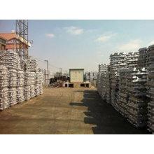 Pureza elevada 99,7% Lingote de alumínio 99,99%