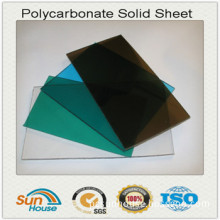 Clear Flat Polycarbonate Sheet 10 Years Warranty