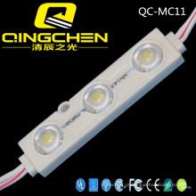 Alto Brilho Impermeável 3 Chips 5050 Módulo de Injeção LED com Lente Ângulo de Visão Módulo LED de 160 graus