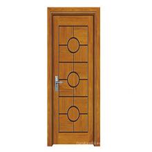 Puerta de madera de la alta calidad caliente de la venta con el diseño de la manera (SW-803)