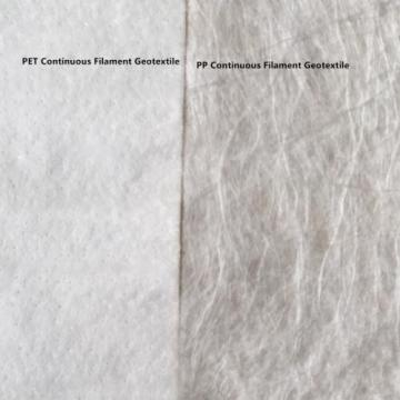 PP Kontinuerlig filament Nonwoven Needle Punched Geotextile