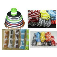 colorful EN471 single side Reflective piping for safety vest