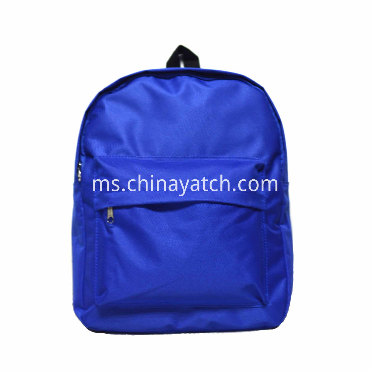 Blue 600D Backpack without Lining