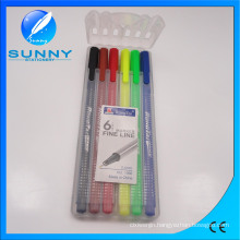 Fineliner Marker, Water Color Pen in PP Case Packing