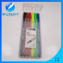 Fineliner Marker, Water Color Pen in PP Case Packing