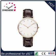 Les femmes de montre de quartz de montre de coutume de conception regardent la montre des hommes (DC-1079)