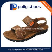 Кожаный сандалии высокого качества оптовых людей способа кожаный