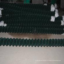 Valla de enlace de cadena recubierto de PVC Venta caliente