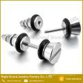 Forme a 316L los enchufes falsos del nudo de tornillo del acero PVD de oro quirúrgico